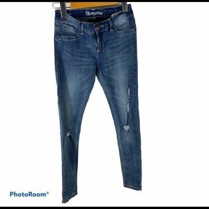Bluenotes Women's Size 25 Low Rise Jegging